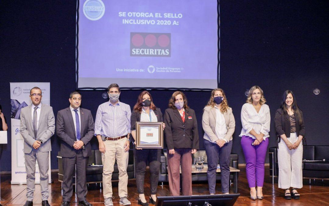 Sociedad Uruguaya de Gestión de Personas reconoció a organizaciones que promueven la inclusión laboral