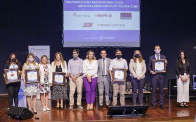 Mapfre, Securitas, Supermercados Ta-Ta y Uruguay Asistencia, las primeras empresas en obtener el sello Uruguay Valora